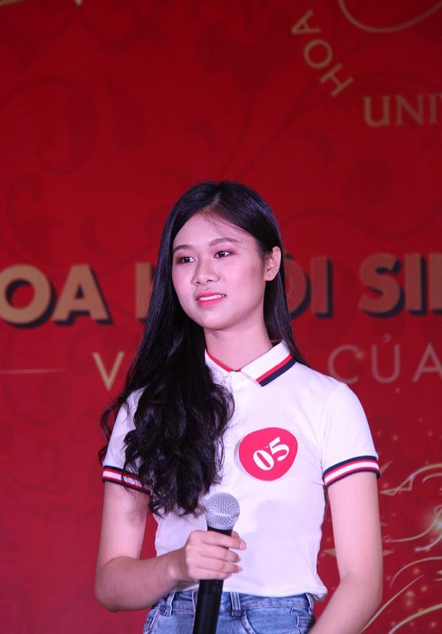 Nữ sinh Hà Nội xúng xính váy áo dự thi Sơ khảo Hoa khôi Sinh viên Việt Nam - 5