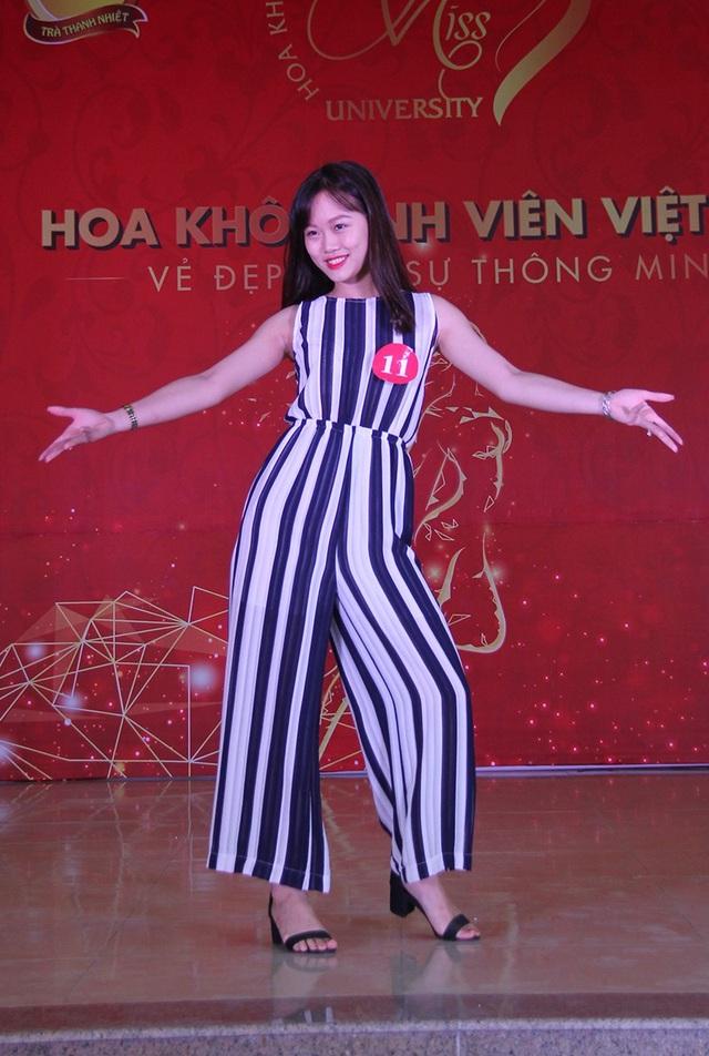 Nữ sinh Hà Nội xúng xính váy áo dự thi Sơ khảo Hoa khôi Sinh viên Việt Nam - 3