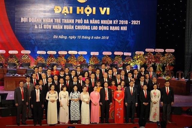 Ban chấp hành Hội doanh nhân trẻ Đà Nẵng khoá VI ra mắt đại hội