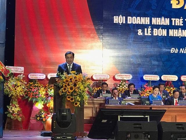 Chủ tịch UBND TP.Đà Nẵng Huỳnh Đức Thơ phát biểu tại đại hội