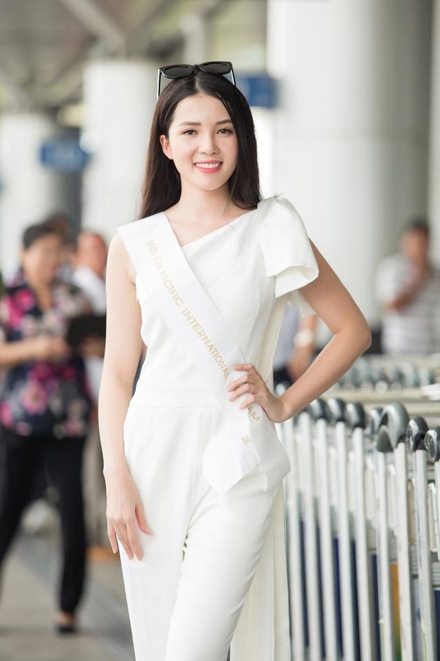 Huỳnh Thuý Vi mang 145kg hành lý lên đường thi Hoa hậu Châu Á – Thái Bình Dương - 1