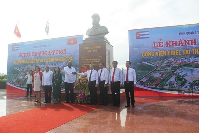 Việc khánh thành công viên cũng thể hiện tình cảm của người dân với lãnh tụ Cuba, khẳng định mối quan hệ hữu nghị, hợp tác giữa Cuba và Việt Nam