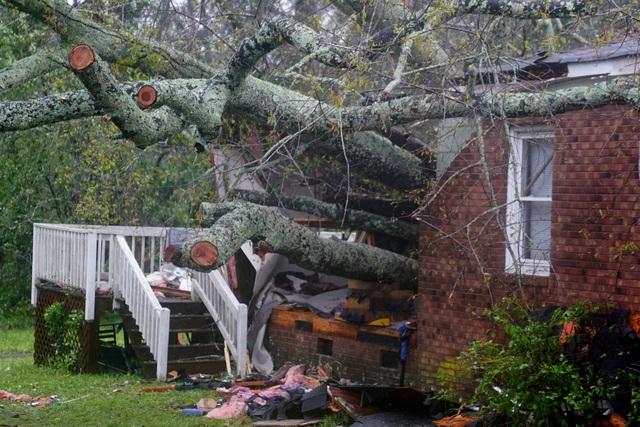 Những thương vong đầu tiên do bão Florence gây ra đã được các nhà chức trách Mỹ xác nhận sau 8 giờ bão đổ bộ vào khu vực Carolina hôm qua 14/9.