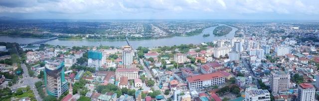 Góc trung tâm TP Huế ở bờ nam sông Hương