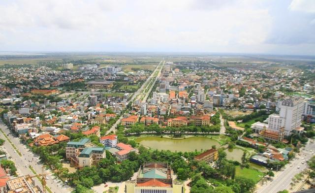 Khu vực trung tâm ngã 6 thành phố Huế