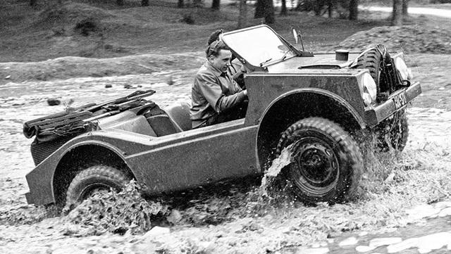 Không phải Cayenne hay Macan, đây mới là mẫu xe địa hình đầu tiên của Porsche - 2