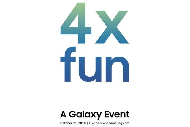 Thư mời tham dự sự kiện đặc biệt ngày 11/10 của Samsung