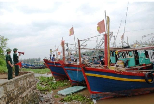 Thái Bình kêu gọi tàu thuyền vào nơi tránh trú bão