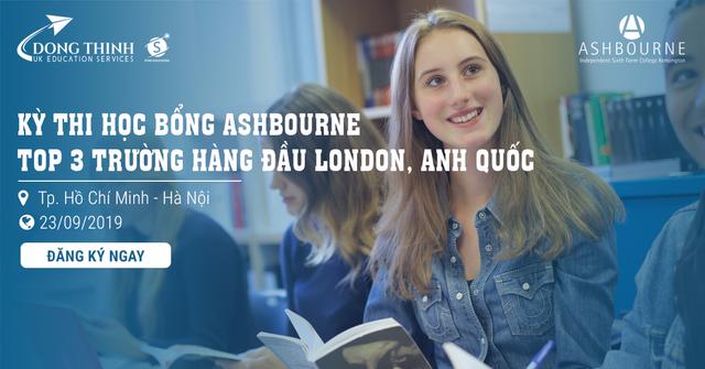 Kỳ thi học bổng Ashbourne - top 3 trường hàng đầu London, Anh quốc - 1