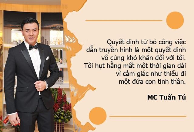 """MC Tuấn Tú: """"Tôi hụt hẫng mất một thời gian dài khi bỏ nghiệp dẫn truyền hình"""""""