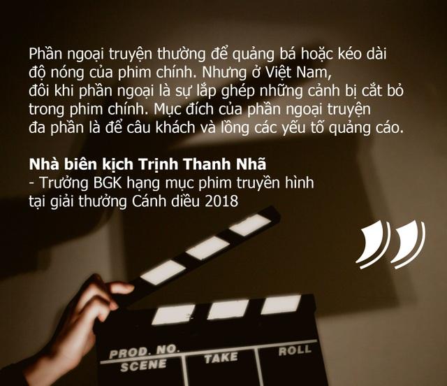 """Phim Việt quá lố khi """"lợi dụng"""" phần ngoại truyện để quảng cáo?"""