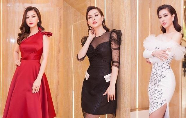 Diễm Trang rạng rỡ và quý phái trong vai trò host của chuỗi hoạt động nhằm tìm ra thí sinh đoạt giải Người đẹp truyền thông