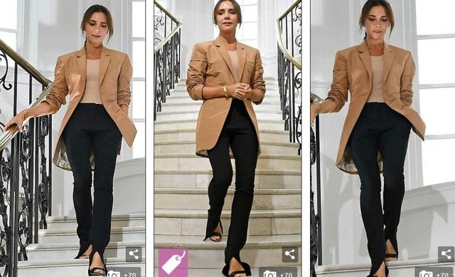 Đây là lần đầu Victoria Beckham ra mắt BST tại London Fashion Week