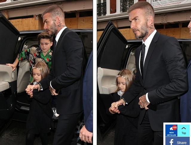 David Beckham luôn là nguồn động viên lớn nhất của vợ