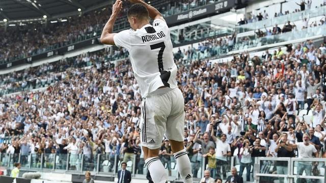Pha ăn mừng quen thuộc của C.Ronaldo
