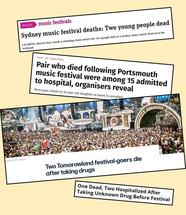 Đến lễ hội âm nhạc, vui hết mình nhưng đừng mạo hiểm tính mạng bản thân - 2