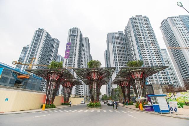 TNR Sky Park là tòa nhà đẹp trong tổ hợp dự án 136 Hồ Tùng Mậu, Hà Nội