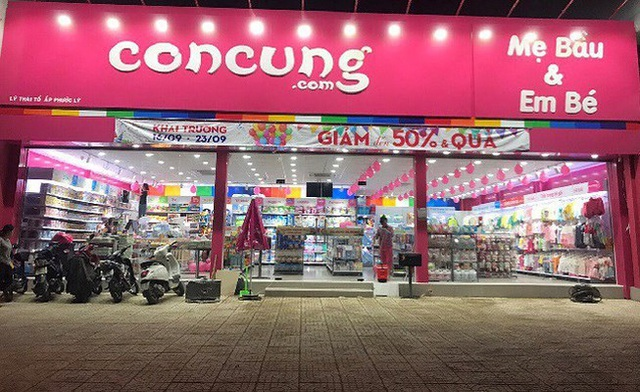 Con Cưng hiện là chuỗi có quy mô lớn nhất trên thị trường với 318 siêu thị trên toàn quốc.