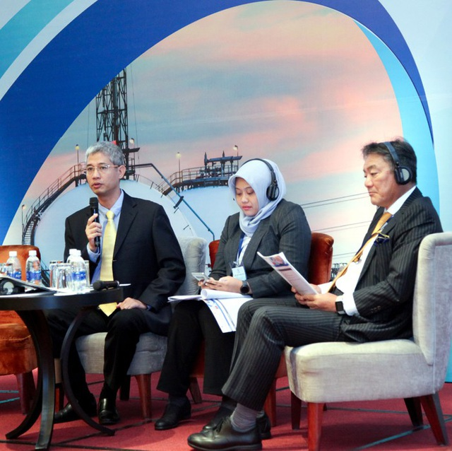 Đại diện PV GAS tham gia thảo luận tại Diễn đàn về chủ đề khuyến khích sử dụng LPG tại châu Á.