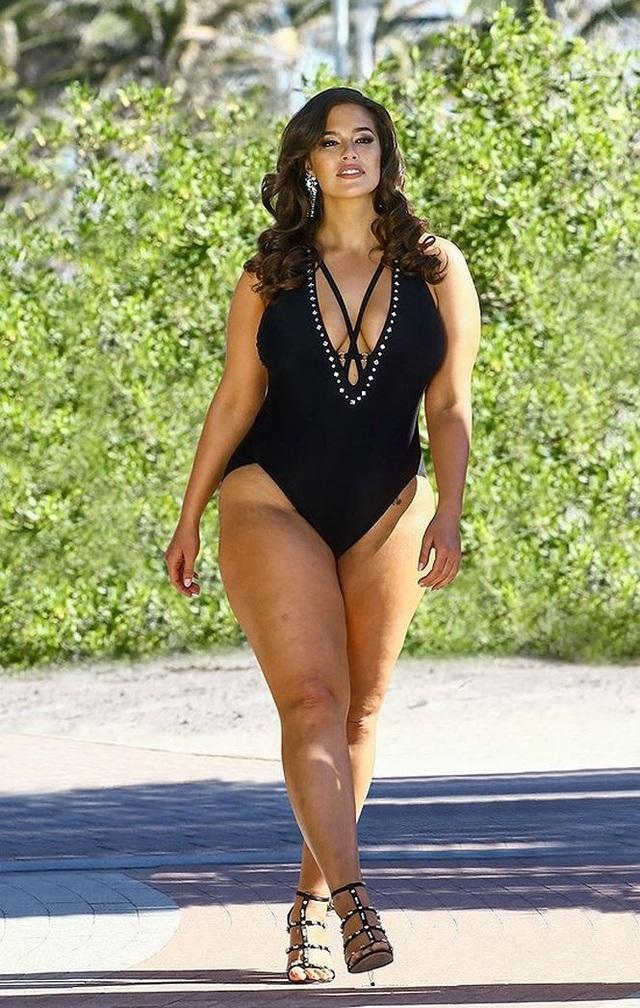 Siêu mẫu béo Asley Graham không thích chỉnh sửa ảnh. Nguồn ảnh: Internet