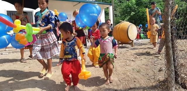 Khánh thành công trình phòng học Dân trí thứ 21 tại điểm trường Huổi Điết, Điện Biên - 9