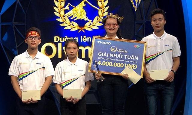 Bùi Hậu Giang giành vòng nguyệt quế với 330 điểm