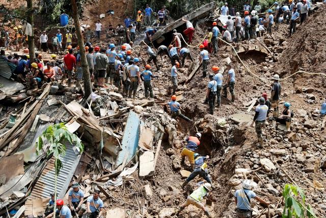 Bão Mangkhut được đánh giá là cơn bão mạnh nhất thế giới trong năm nay. Sau khi đổ bộ Philippines, cơn bão này tiếp tục càn quét Hong Kong, Trung Quốc và gây thiệt hại nặng nề. (Ảnh: Reuters)