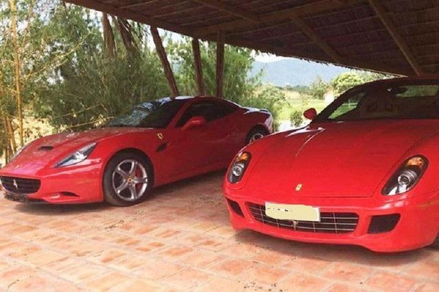 Ông chủ cà phê Trung Nguyên là vị đại gia duy nhất tại Việt Nam cùng lúc sở hữu nhiều chiếc siêu xe Ferrari khác nhau.