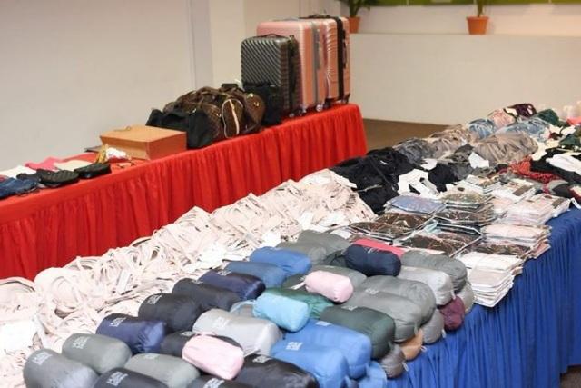 Ước tính giá trị của số quần áo bị lấy trộm vào khoảng 26.00 USD (Ảnh: ST)