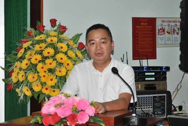 PGS-TS Nguyễn Lân Hiếu – PGĐ Bệnh viện Đại học Y Hà Nội phát biểu tại lễ phát động dự án Phát hiện sớm bệnh tim bẩm sinh ở trẻ sơ sinh
