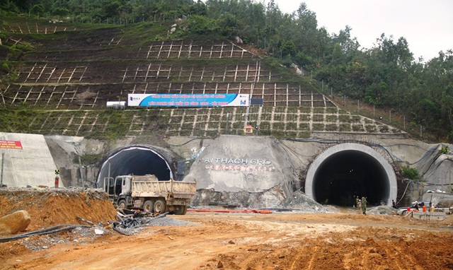 Phía Bắc hầm thuộc tỉnh Bình Định