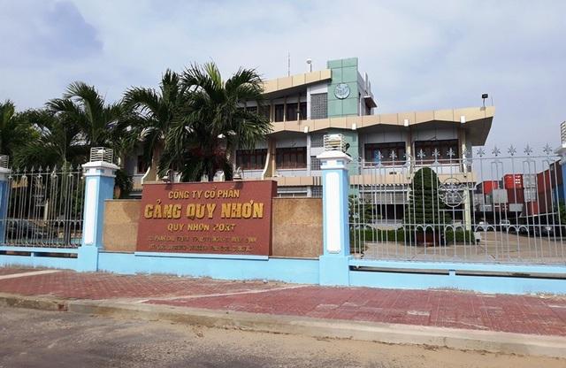 Trụ sở Công ty CP Cảng Quy Nhơn.