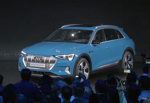 Audi e-tron SUV khuấy động phân khúc xe sang chạy điện - 2