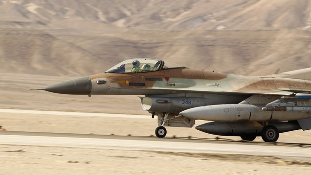 Máy bay F-16 của Israel (Ảnh minh họa: Reuters)