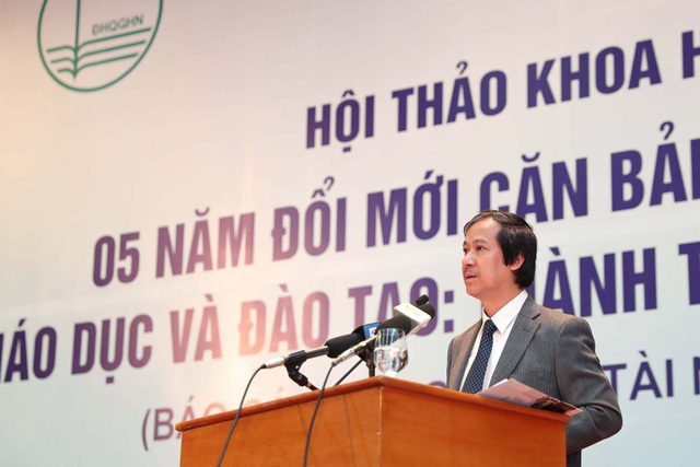 PGS.TS Nguyễn Kim Sơn- Giám đốc ĐHQGHN