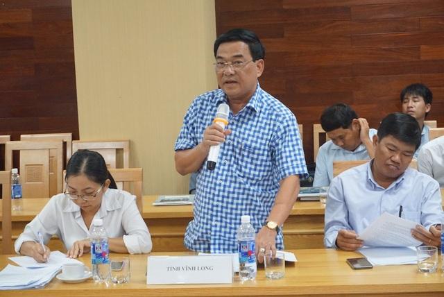 Đại diện tỉnh Vĩnh Long lo ngại vấn đề xâm nhập mặn, sạt lở vì thủy điện ngăn dòng chảy tự nhiên của sông Mê Công