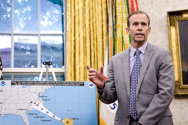 Giám đốc Cơ quan Quản lý Khẩn cấp Liên bang Mỹ (FEMA) Broke Long (Ảnh: NYT)