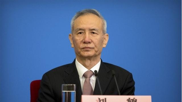 Phó thủ tướng Trung Quốc Lưu Hạc, người chủ trì cuộc họp khẩn của giới chức Trung Quốc vào sáng 18/9 để thảo luận các biện pháp đáp trả quyết định áp thuế của Mỹ. (Ảnh: EPA)