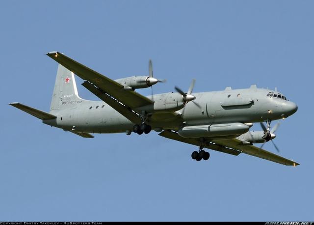 Một máy bay Il-20 của Nga (Ảnh: Airlines.net)