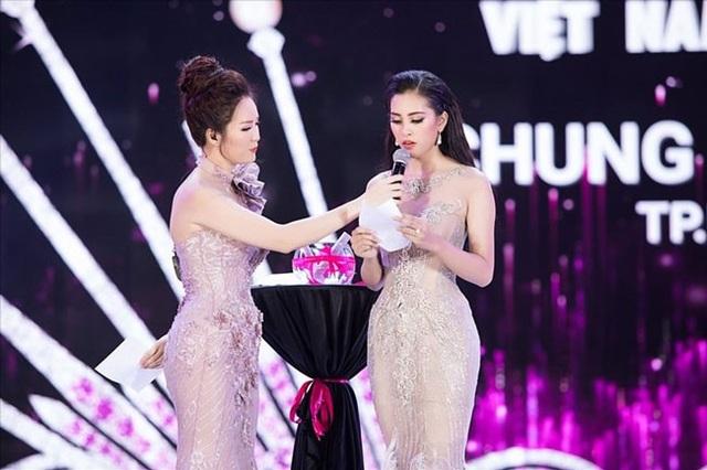 Tân Hoa hậu Tiểu Vy nhận nhiều ý kiến trái chiều trong phần thi ứng xử trong đêm chung kết.