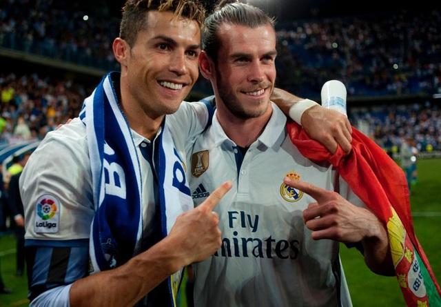 Gareth Bale tin rằng sau khi C.Ronaldo ra đi, Real Madrid đã trở thành tập thể đúng nghĩa