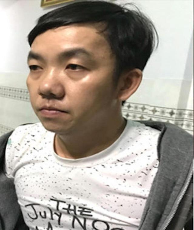Nghi phạm Châu Cường bị bắt giữ.