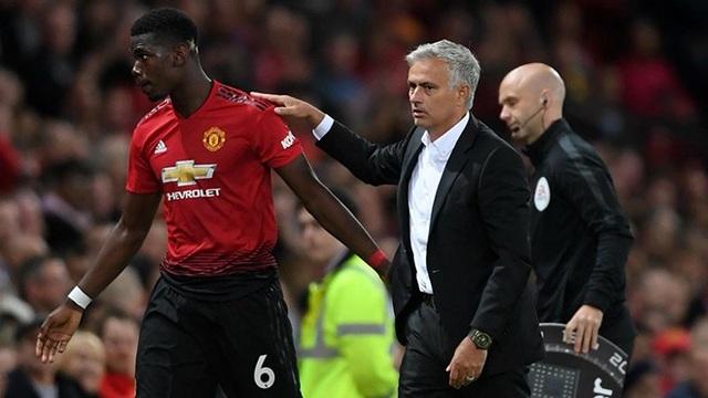Mourinho (giữa) phàn nàn về việc phải thi đấu ở mặt sân cỏ nhân tạo