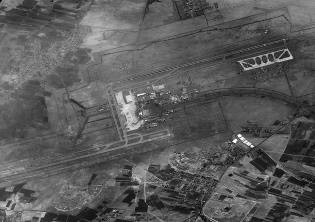 Ảnh chụp vệ tinh sân bay quốc tế Damascus. (Ảnh: Bộ Quốc phòng Israel)