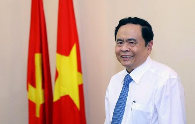 Đồng chí Trần Thanh Mẫn - Bí thư Trung ương Đảng, Chủ tịch Ủy ban Trung ương MTTQ Việt Nam.