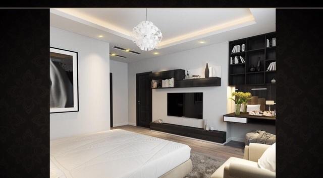 Một phòng bên trong căn hộ dự án Comatce Tower