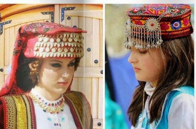 Vẻ đẹp của những cô gái người Hunza