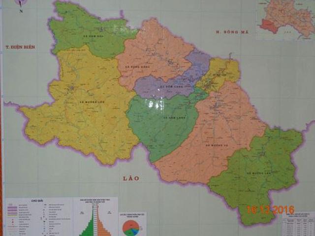 Huyện Sốp Cộp là huyện vùng sâu, vùng xa của tỉnh Sơn La.