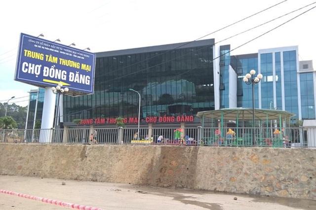 Trung tâm thương mại chợ Đồng Đăng.