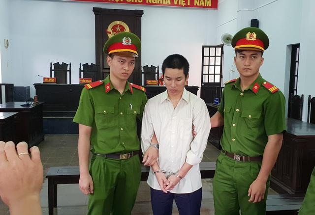 Bị cáo Trần Anh Tiến tại phiên tòa sơ thẩm